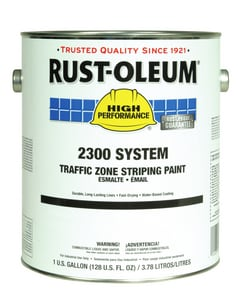 1 gal Water Base Traffic Zone Striping Paint in Black