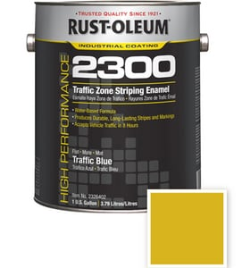 1 gal Semi-Gloss Traffic and Striping Paint in Gloss Yellow