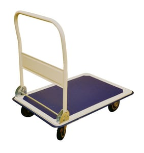 33 in. Folding Handle Platform Cart