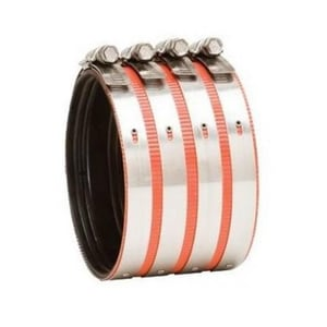2 in. No-Hub Heavy Duty Stainless Steel Coupling