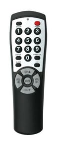 7 in. Universal TV Remote