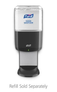 ES8 Hand Sanitizer Always-Ready Touch-Free Dispenser in Graphite