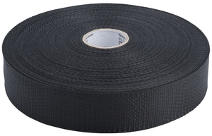 1-3/4X100 YD WOVEN DUCT STRP BLK