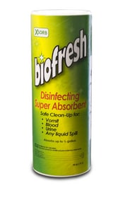 ABSORBENT W/ DISINFECTANT 9/CA