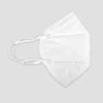 KN95 Ear Loop Face Mask White 2 pk