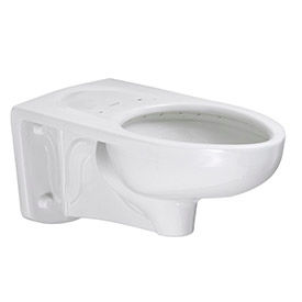 3353101.020 American Standard Low Flow 3353101.020 Elongated Flush Valve Toilet W/Everclean, 1.1 - 1.6 GPF