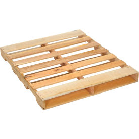 "global industrial™ new hard wood gma pallet, 48"" x 40"" x 4-1/2"" Global Industrial™ New Hard Wood GMA Pallet, 48"" x 40"" x 4-1/2"""