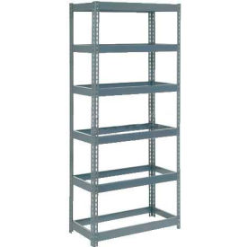 "255422 Extra Heavy Duty Shelving 48""W x 18""D x 60""H With 6 Shelves, No Deck"
