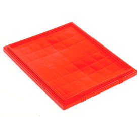 LID301RD Lid LID301 for Stacking & Nesting Totes - Shipping SNT300, Red