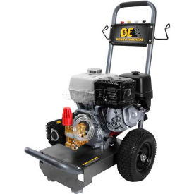 BE Pressure B4213HC 3,700 Psi Mobile Pressure Washer 13hp Honda Gx Engine