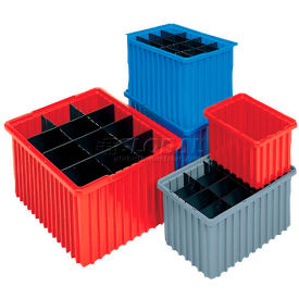 33220RED Akro-Mils Akro-Grid Dividable Container 33220 22-3/8 x 17-3/8 x 10 Red