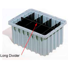 42224 Akro-Mils Long Divider 42224 For Akro-Grids Dividable Grid Containers 33224 Pack Of 6