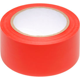 "PST212 INCOM; Safety Tape Solid Red, 6 Mil Thick, 2""W x 108L, 1 Roll"