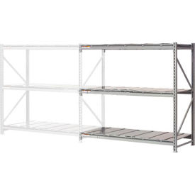 "504380 Extra High Capacity Bulk Rack With Steel Decking 60""W x 24""D x 96""H Add-On"