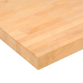 "601180-96"" W x 36"" D x 1-3/4"" Thick Maple Butcher Block Square Edge Workbench Top"