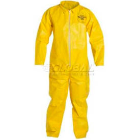 QC120SYLMD001200 Dupont;Tychem; QC Disposable Coverall with Open Ended Wrists/Ankles, M, 12/Case