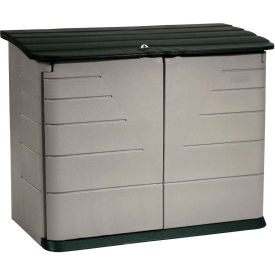 "FG374701OLVSS Rubbermaid Horizontal Outdoor Storage Shed FG374701OLVSS, 60""L X 32""W X 47""H"