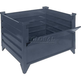 "51003 Topper Stackable Steel Container 51003 Solid, 42""L x 42""W x 18""H, Unpainted"
