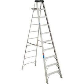 werner 10 type 1a aluminum step ladder - 310 Werner 10 Type 1A Aluminum Step Ladder - 310