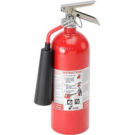 466180 Fire Extinguisher Carbon Dioxide 5 Lb.