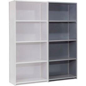 "236818 Steel Shelving 18 Ga 36""Wx18""Dx85""H Closed Clip Style 5 Shelf Add-On"