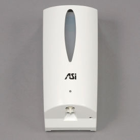 0361 ASI; Automatic Soap Dispenser White Plastic - 0361