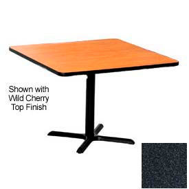 LR4848GHX Premier Hospitality Square Restaurant Table - 48x48 - Graphite