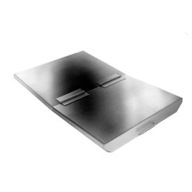 SS10033 Lid for Wright 1 Cu Yd Stainless Steel Heavy Duty Self-Dumping Hopper