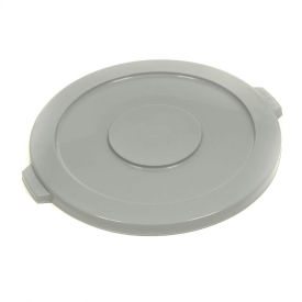 1002-GY Global Industrial; Plastic Trash Container Lid, Garbage Can Lid - 10 Gallon Gray