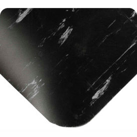 "420.12x2CUTAMBK Antimicrobial Tile Top Antifatigue Mat 1/2"" Thick 2 Ft Wide Up To 60 Ft Black"