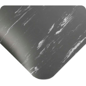 "420.12x4CUTAMCH Antimicrobial Tile Top Antifatigue Mat 1/2"" Thick 4 Ft Wide Up To 60 Ft Charcoal"