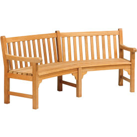 "essex curved 83"" bench Essex Curved 83"" Bench"