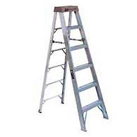 AS100-6 Louisville 6 Type 1A Aluminum Step Ladder - AS100-6