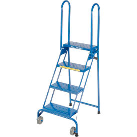 LS4247 4 Step Lock-N-Stock Folding Ladder - LS4247