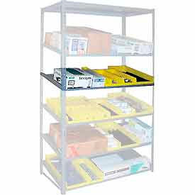 "Sloped Flow Shelving Additional Level 48""W x 18""D Gray"
