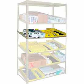 "Sloped Flow Shelving Additional Level 48""W x 18""D Tan"