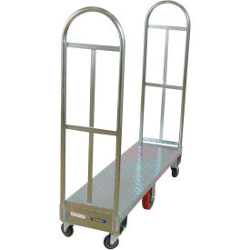 273291 Wesco; Galvanized Steel Narrow Aisle Platform Truck 273291 60x16 1750 Lb.
