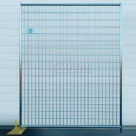 RF 1020 WWG Welded Wire Galvanized Fence - 12 Panel Kit