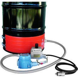 DHCX151300T3 BriskHeat; 55 Gallon Hazardous Area Drum Heater - 120V, T3 Rated
