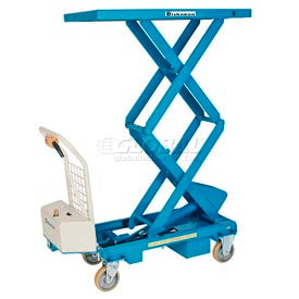 BX-30SB Bishamon; MobiLift; Battery Powered Scissor Lift Table BX-30SB 660 Lb. Cap.