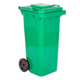 TH-32-GRN Mobile Trash Can - 32 Gallon Green - TH-32-GRN