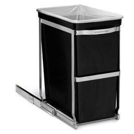 CW1124 simplehuman; Pull Out Waste Can - 8 Gallon