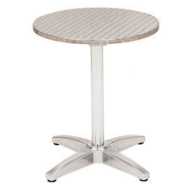 "TSS-32RD-B1804-SS KFI Outdoor 32"" Round Stainless Steel Table"
