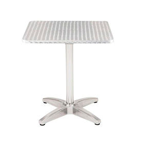 "TSS-32SQ-B1804-SS KFI Outdoor 32"" Square Stainless Steel Table"