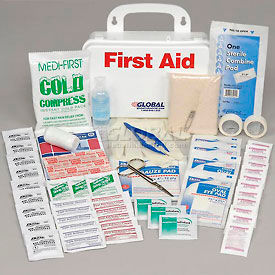 GF733ANSI  First Aid Kit - 10 Person, Plastic