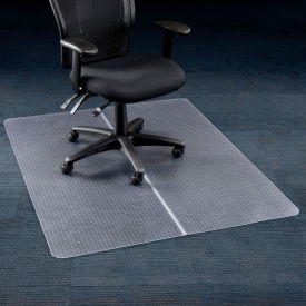 "120221 Office Chair Mat for Carpet - 46""W x 60""L - Straight Edge"
