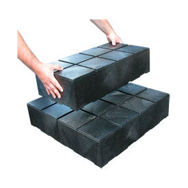 "DC240612 Structural Plastic Dunnage Cube 24""W x 12""D x 6""H"