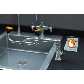 G 1806 Guardian Equipment Eye Wash, Deck Mounted, 90-Degree Swivel, Right Hand Mounting, G1806