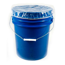 DC5 Protective Lining Corp. DC5 5 Gallon Pail Elastic Dust Cover 4 mil 100 per Case