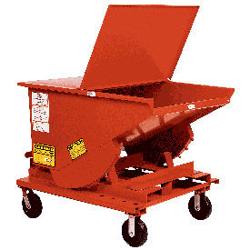 CK820SS 8 x 2 Steel Caster Kit for MECO Self Dumping Hoppers